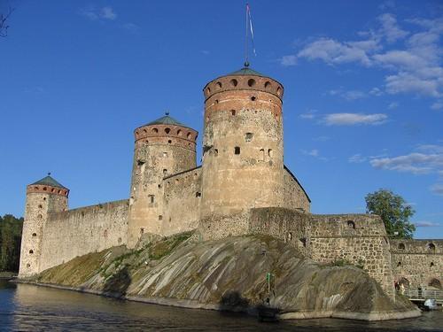 Castillo de San Olaf en Savonlinna