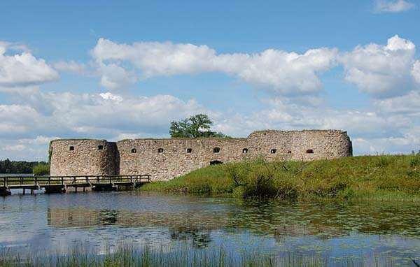 Castillo de Kronoberg en Vaxjo