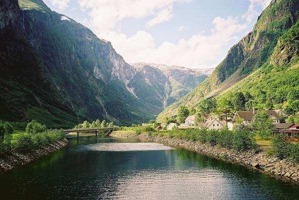 Gudvangen, cerca de Bergen