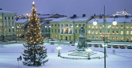 Helsinki en Navidad