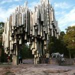 El monumento a Jean Sibelius, en Helsinki