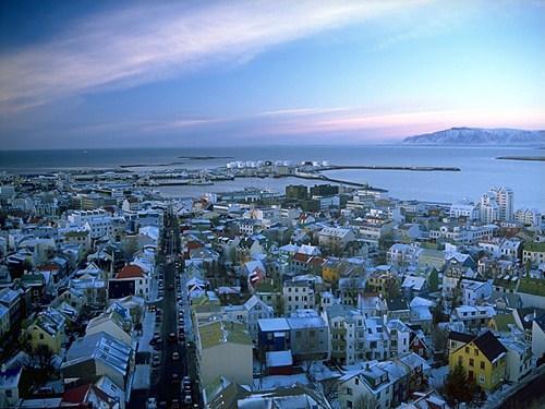vista de Reykiavik