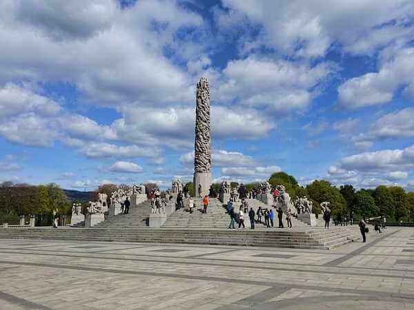 Parque Vigeland, en Oslo
